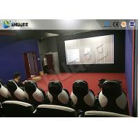 Wholesale Park 9D Cinema Seat With Electric / Pneumatic System Round Screen from china suppliers