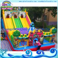 Buy cheap 2015 Commercial Amusement Inflatable Theme Bouncer Castle from wholesalers