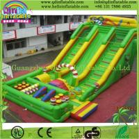 Wholesale Guangzhou QinDa inflatable combo, inflatable game, inflatable bouncer slide from china suppliers