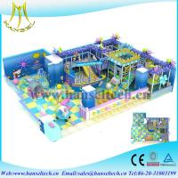 Wholesale Hansel china factory price kids indoor climbing play equipment soft play center from china suppliers