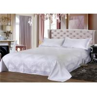 Wholesale White 250TC Jacquard And 100% Cotton Dorm Bedding Sets With Single Size from china suppliers