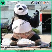 Buy cheap Inflatable Kung Fu Panda Advertising Inflatable Cartoon from wholesalers