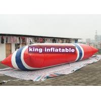 Durable Inflatable Water Toys / Blow Up Water Jumping Airbag Water Blob