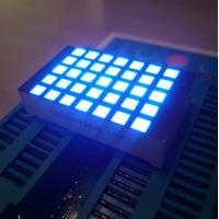 China Ultra Blue 3Mm 5X7 Dot Matrix Led Display Row Cathode  For Elevator Position Indicator on sale