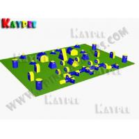 Wholesale 7 Man Tourney PRO Package,Inflatable paintball Bunker filed, paintball arena KPB019 from china suppliers