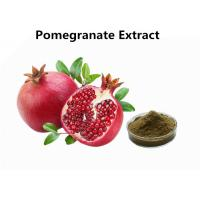 Wholesale Pure Pomegranate Extract Powder, 30% Polyphenols Pomegranate Peel Powder For Skin from china suppliers