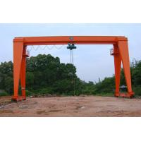 China MH Type Single Beam Gantry Crane Electric Gantry Crane 100 Microns Average Thickness on sale