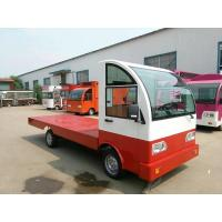 Wholesale Battery operated platform truck 3Ton Loading Capacity with guardrail from china suppliers