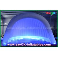 China 210D Oxford LED Inflatable Air Tent Dome Inflatable Igloo Tent Waterproof For Party on sale