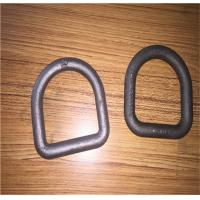 China Forged Steel Safety D Rings / Lifting D Rings One Way Buckle LC8KN Stamping on sale