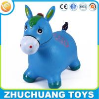 Wholesale cheap jumping inflatable horse animal toys for kid from china suppliers