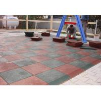Wholesale Customized Playground Surface Tiles 1000x1000x(15-50)Mm Safety Large Size from china suppliers