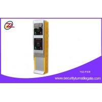 China Vehicle access control Parking Ticket Machine / parking ticket dispenser system on sale