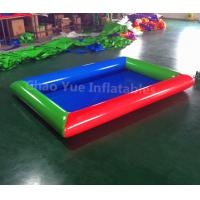 Wholesale High Quality Colorful Water Inflatable Pool for water walking ball from china suppliers