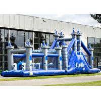 Wholesale Playground Adult Inflatable Obstacle Course Adrenaline Rush OEM Service from china suppliers