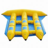 Buy cheap Inflatable Flying Fish Boat, Made of 0.9mm PVC, Customized Designs are Accepted from wholesalers