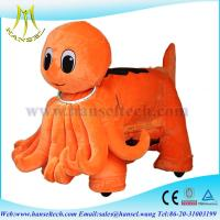 Wholesale Hansel stuffed animal ride electric stuffed animals plush wheel from china suppliers