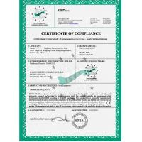 LAKER AUTOPARTS CO.,LIMITED Certifications