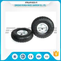 Wholesale Galvanized Color Pneumatic Rubber Wheels Steel Rim Ball Bearing 55mm Hub 3.50-4 from china suppliers