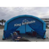 China 3*3m Unsealed  Inflatable Cube Tent For Event , Inflatable Camping Tents on sale