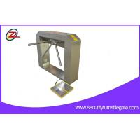 Wholesale TCP/IP Two Door Access Pedestrian Security Gates Double Tripod Turnstile For Gym from china suppliers