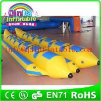 Wholesale Hot sale inflatable fly fish banana boat inflatable adult boat for water park from china suppliers