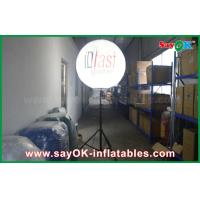 China 1.5m Outdoor Inflatable Standing Light Balloon with Print for Advertising on sale