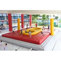 Buy cheap Eco-friendly Inflatable Sports Arena Inflatable Water Volleyball Court from wholesalers