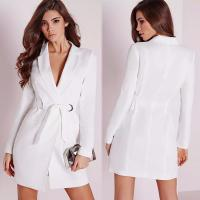Wholesale Fall White Blazer Dress Women Clothing from china suppliers