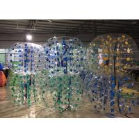 Wholesale 1.5M Body Inflatable Bubble Soccer Balls PVC1.0mm Or TPU 1.0mm Material from china suppliers