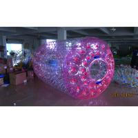 Wholesale Outdoor Kids Inflatable Land Roller Abrasion Resistant Lightweight Easy Maintenance from china suppliers