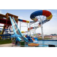 Wholesale Colorful Aqua Park Equipment , Family Rafting Water Slide For Large Water Park from china suppliers