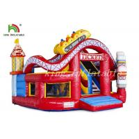 Wholesale Happy World Inflatable Amusement Park Durable PVC Combo Playground For Toddler from china suppliers