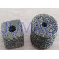 Wholesale Soft Monel Knitted Mesh Filters Single Strand Wire Double Round With A Fin from china suppliers