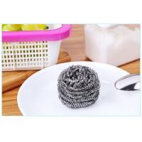 Wholesale Oil Removing Metal Scouring Ball Antibacterial For Restaurant Washing Pots from china suppliers