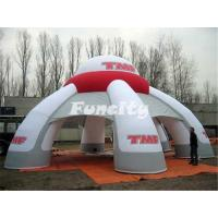 Wholesale Durable 0.6mm PVC Tarpaulin Giant Inflatable Dome Tent / Advertising Tents from china suppliers