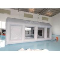 Wholesale Automotive Workstation Inflatable Spray Booth Double Stitching from china suppliers
