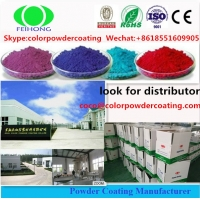 Wholesale Industrial Pure Polyester TGIC FREE Powder Coating For Metal Finish from china suppliers