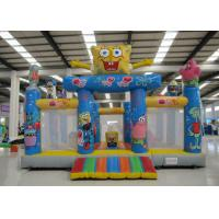 Wholesale Amusement Park Kids Inflatable Bounce House Digital Printing Fireproof  Material from china suppliers