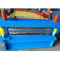 Wholesale Roofing Sheet Double Layer Roll Forming Machine , Profile Forming Machine Low Noise from china suppliers