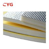 China Rigid extruded foam sheet Pe Foam Aluminum Foil Roll on sale