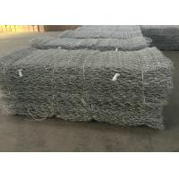 Wholesale Twill Weave Gabion Wire Mesh Hot Galvanized Wire Material For River Protection from china suppliers