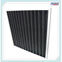 Exhaust Gas Smokes Activated Media Air Filter Carbon Fiber