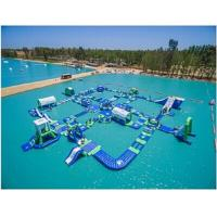China Giant Adult Inflatable Water Park Commercial Inflatable Water Fun For Lake on sale