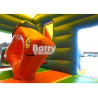Wholesale Nemo Fish Mini Inflatable Combo Jumping Bouncy Castle Slide Combo For Kids from china suppliers
