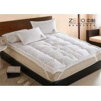 Wholesale Comfortable Home Hotel Pillow Top Mattress Pad OEM / ODM Available from china suppliers