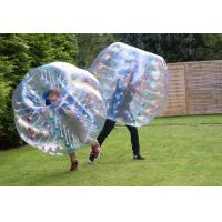 Quality 2014 hot sell human inflatable bumper bubble ball with EN15649 certificate for sale
