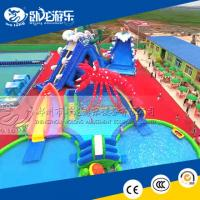 Wholesale big water slides, cheap inflatable water park for sale from china suppliers
