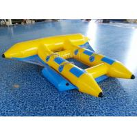 Wholesale Towable Inflatable Flying Fish , Inflatable Banana Boat 2.8 * 2.6 Meter from china suppliers