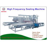 Quality Heavy Duty High Frequency Plastic Welding Machine With 4 Shuttle Slides for sale